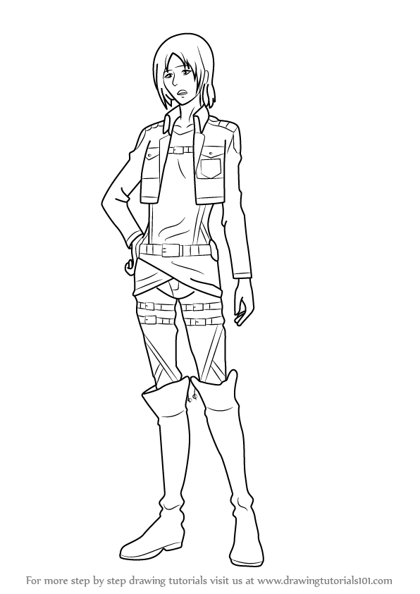 Learn How to Draw Ymir from Attack on Titan (Attack on