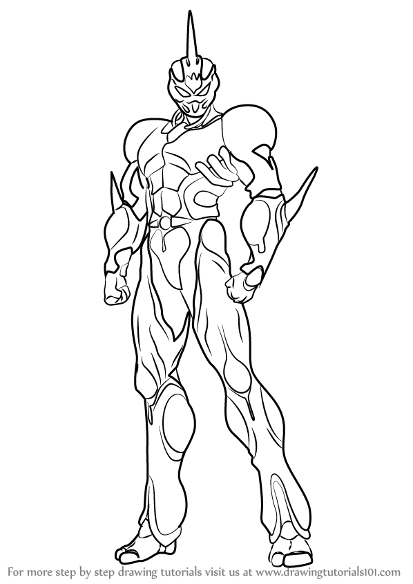 Basic Anime Body Coloring Coloring Pages