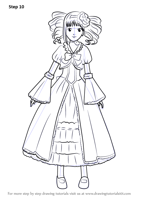 Learn How to Draw Elizabeth from Black Butler (Black