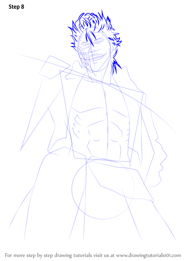 Learn How to Draw Grimmjow Jaegerjaquez from Bleach