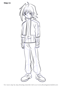 Step by Step How to Draw Aichi Sendou from Cardfight
