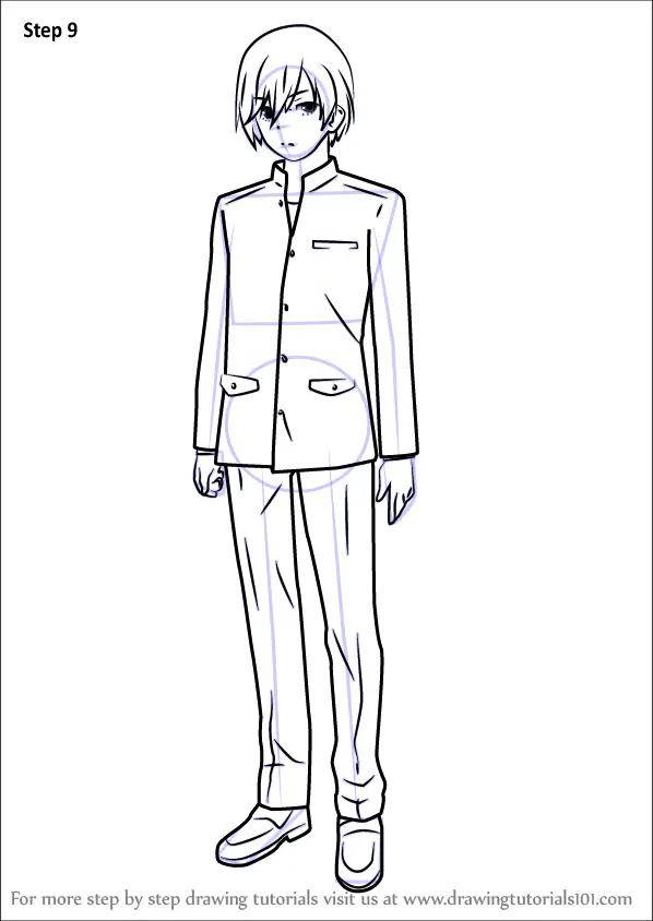 Learn How to Draw Yu Otosaka from Charlotte (Charlotte