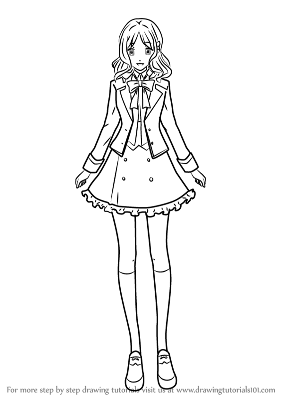 Step By Step How To Draw Yui Komori From Diabolik Lovers