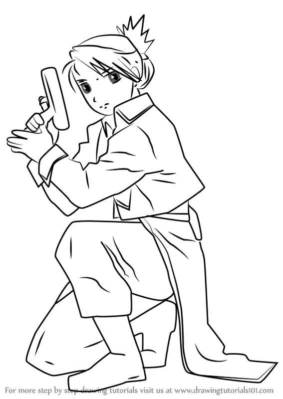 Learn How To Draw Hawkeye Hawkeye Step By Step Drawing Tutorials