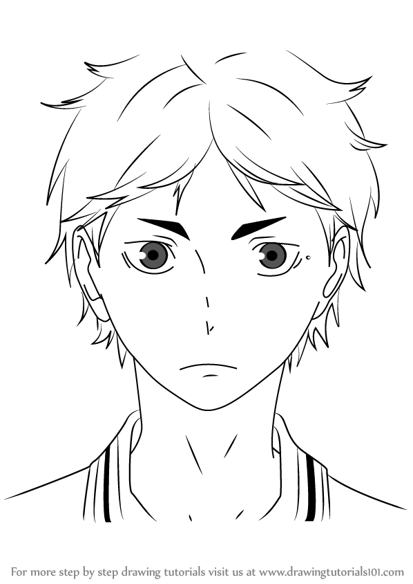 Learn How to Draw Koushi Sugawara from Haikyuu!! (Haikyuu