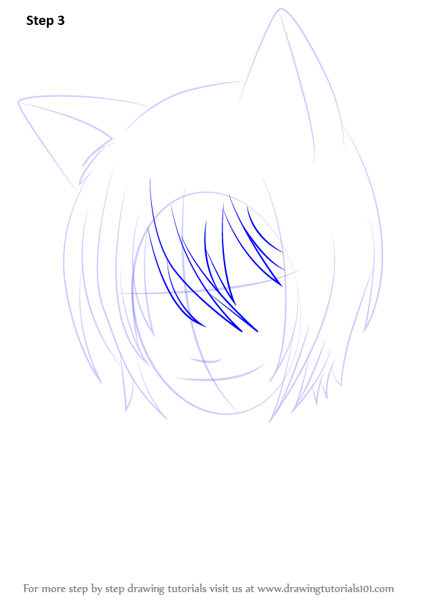 how to draw anime face