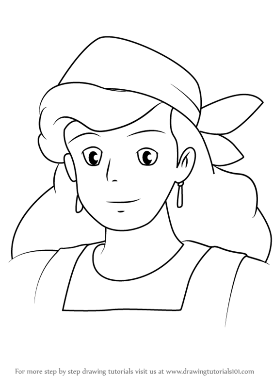 Kikis Delivery Service Coloring Pages Coloring Pages