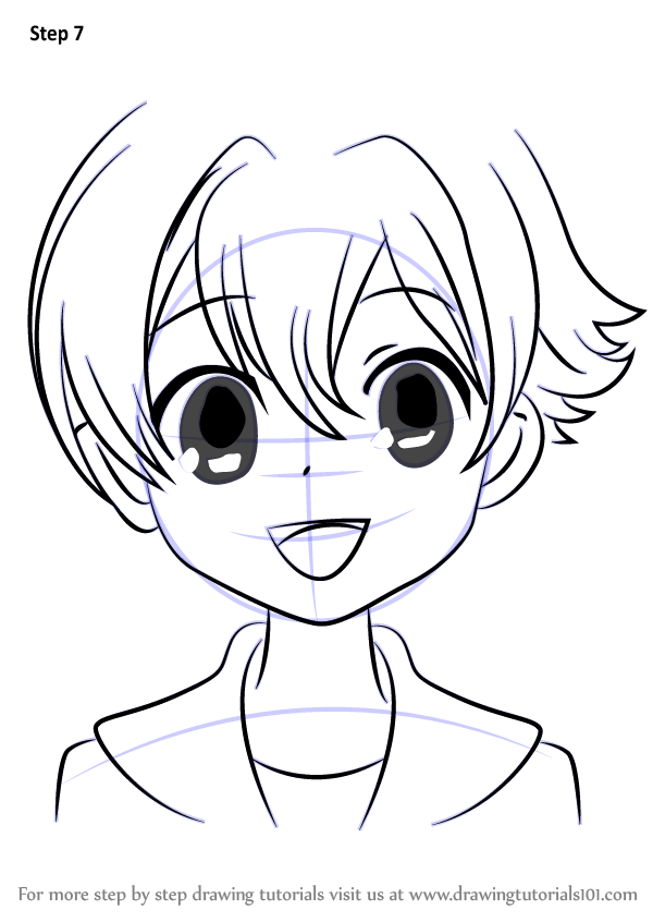 Learn How to Draw Honey from Ouran High School Host Club