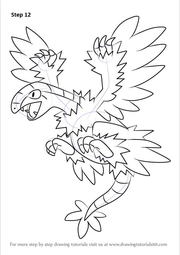 Learn How To Draw Mega Tyranitar From Pokemon Pokemon