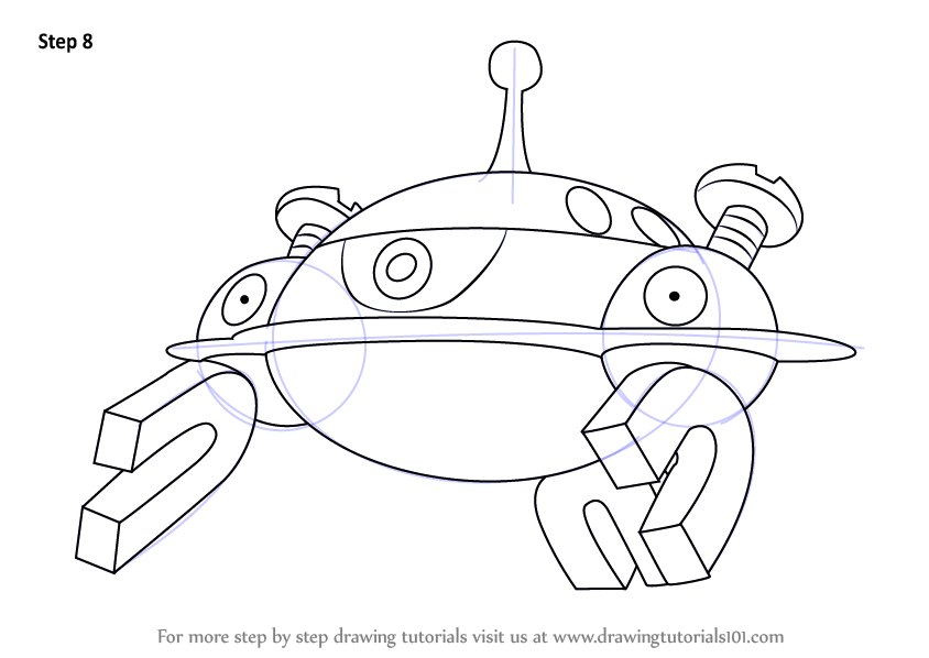 Learn How to Draw Magnezone from Pokemon (Pokemon) Step by