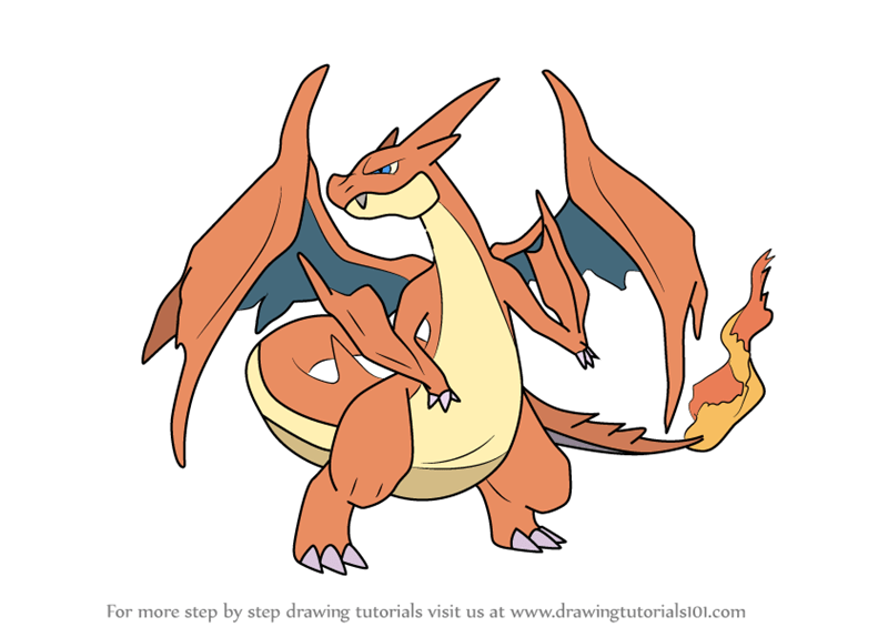 Pokemon Coloring Pages Charizard Printable