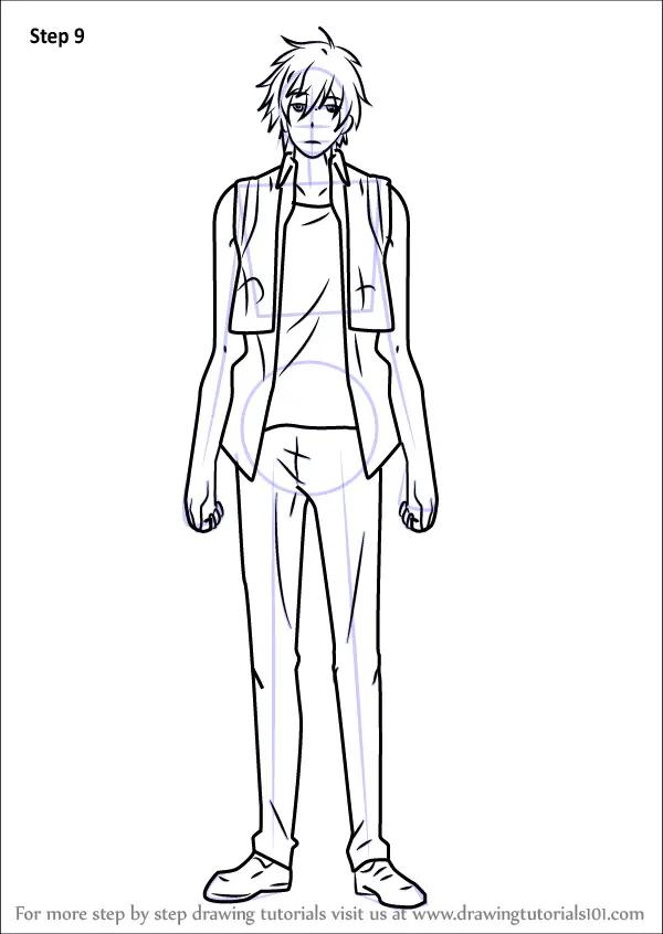 Learn How To Draw Tetsu Sendagaya From Servamp Servamp