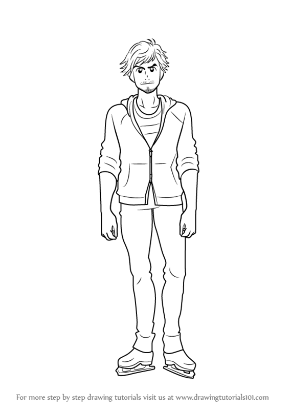 Yurio Yuri Ice Coloring Pages