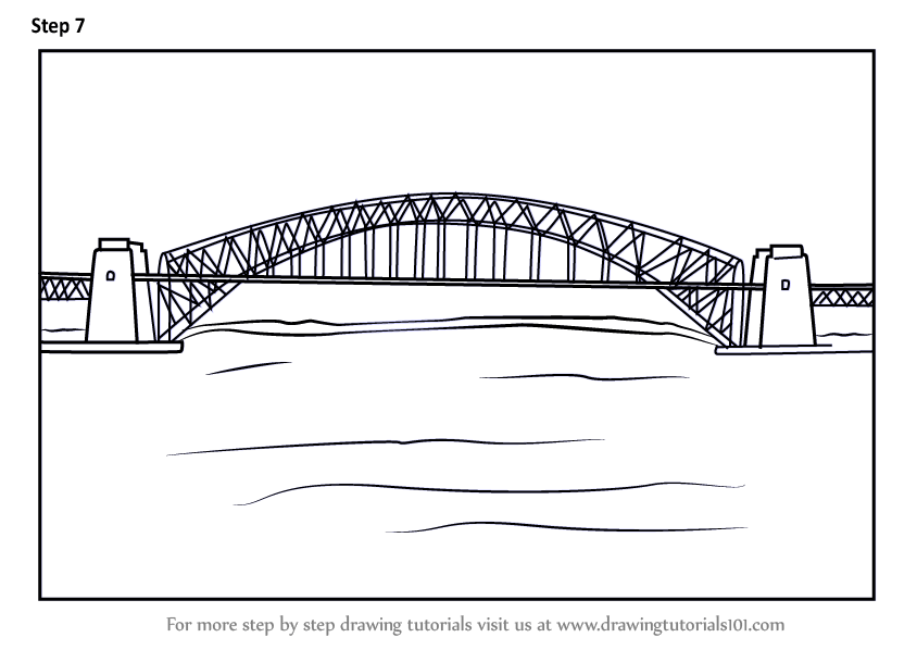 Drawing River Pencil Colored