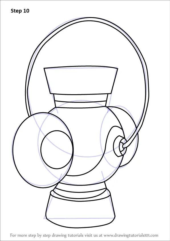 Learn How to Draw Green Lantern's Lantern (Green Lantern