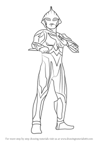 Ultraman Coloring Picture Ultraman Coloring Pages Printable