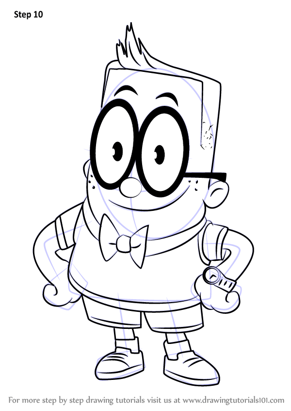 Captain Underpants Coloring Pages Mr Krupp