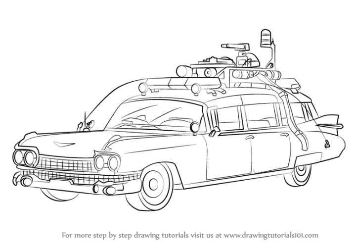 how to draw a cartoon car step by step