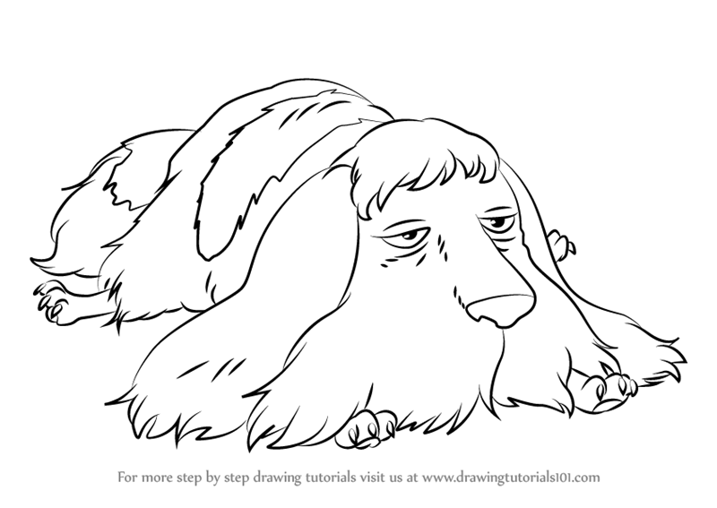 Learn How to Draw Heen from Howl's Moving Castle (Howl's