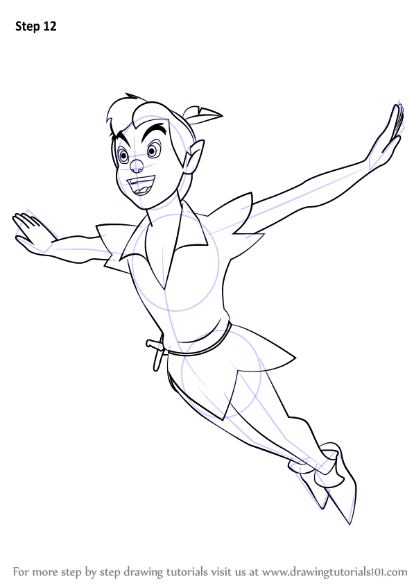 Learn How to Draw Peter Pan from Peter Pan (Peter Pan