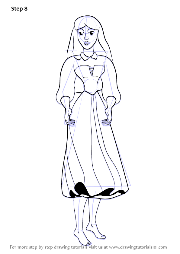 Learn How To Draw Briar Rose From Sleeping Beauty