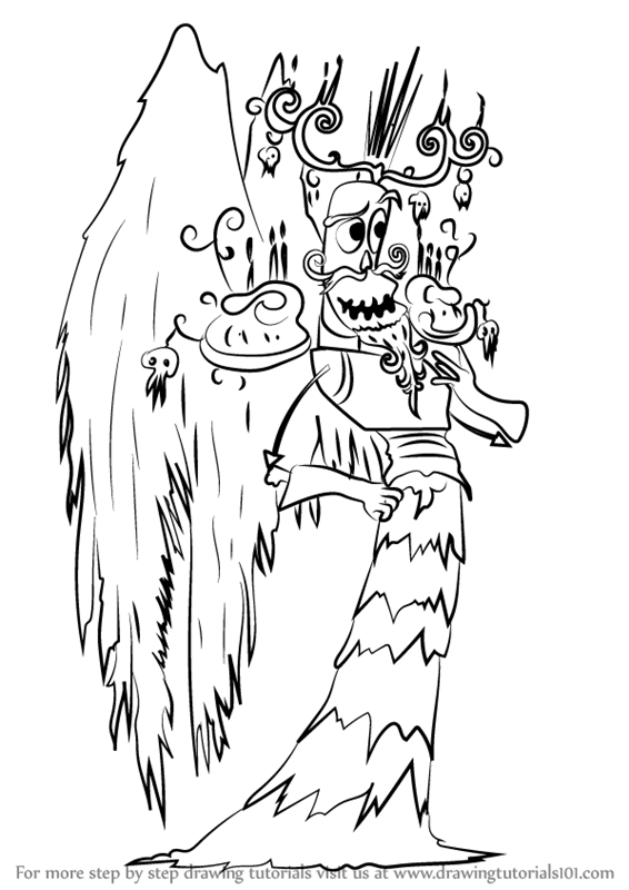 Learn How to Draw Xibalba from The Book of Life (The Book