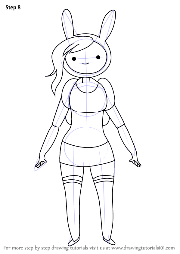 Fionna The Human Adventure Time Coloring Pages Coloring Pages