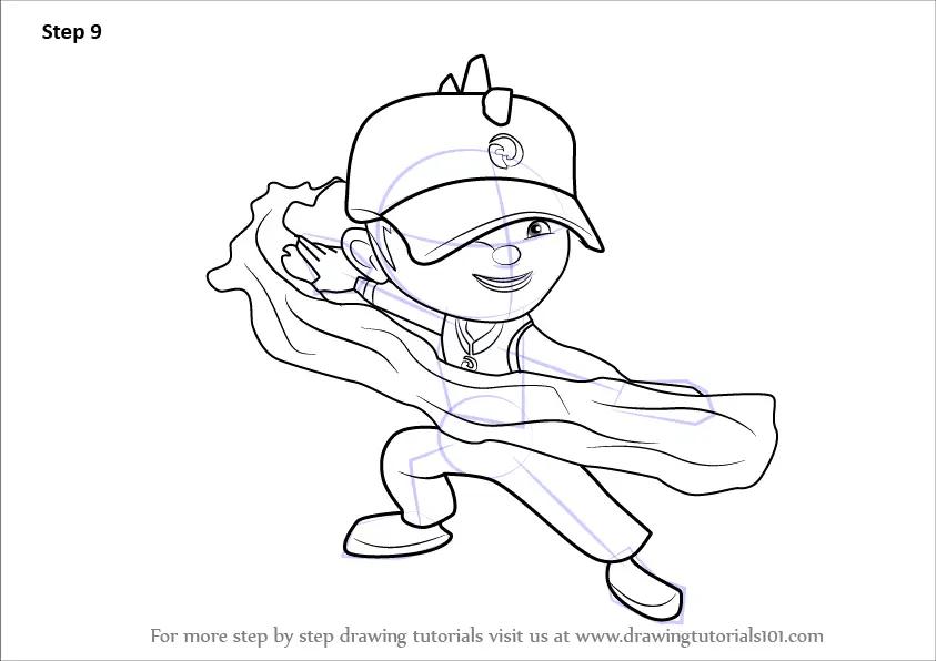 Learn How To Draw BoBoiBoy Water From BoBoiBoy BoBoiBoy