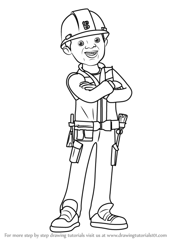Learn How to Draw Leo from Bob the Builder 2015 (Bob the