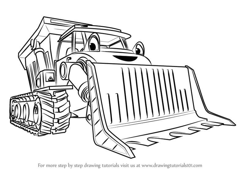 Learn How to Draw Muck from Bob the Builder 2015 (Bob the