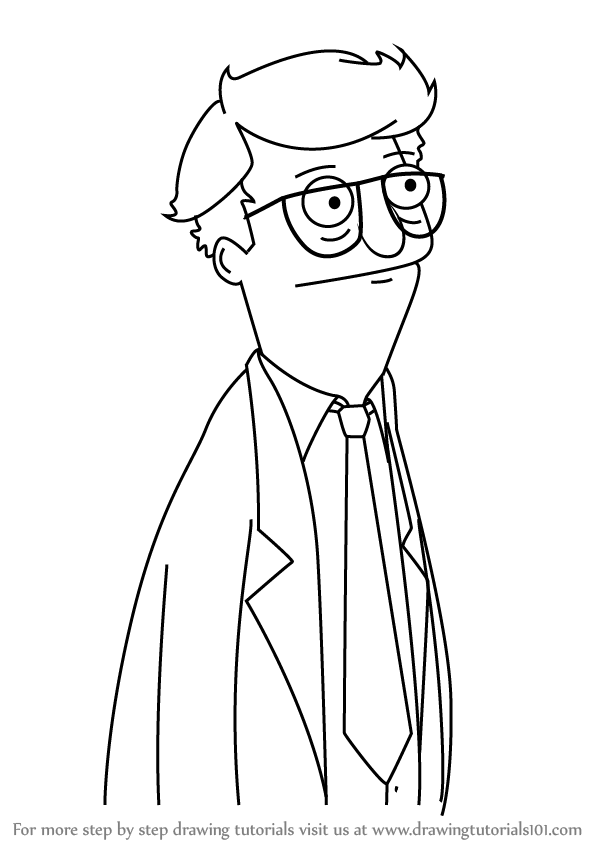 learn how to draw mort from bob's burgers (bob's burgers