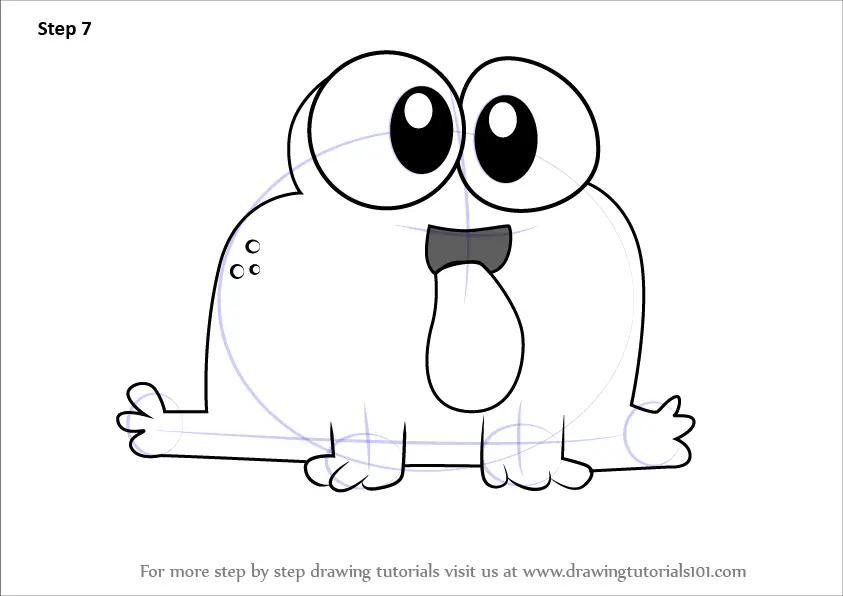 Drawings Cartoon Baby Animals