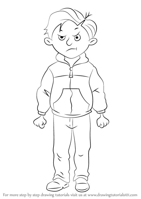 Learn How to Draw Rude Ralph from Horrid Henry (Horrid