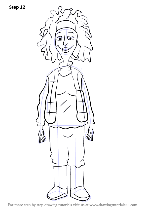 Learn How to Draw Windy Wendy from Horrid Henry (Horrid