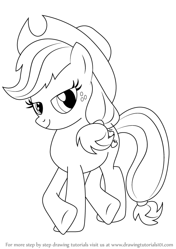 My Little Pony Drawing Guide