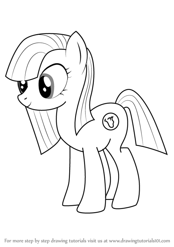 Learn How to Draw Marble Pie from My Little Pony
