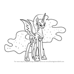 Learn How to Draw Nightmare Moon from My Little Pony