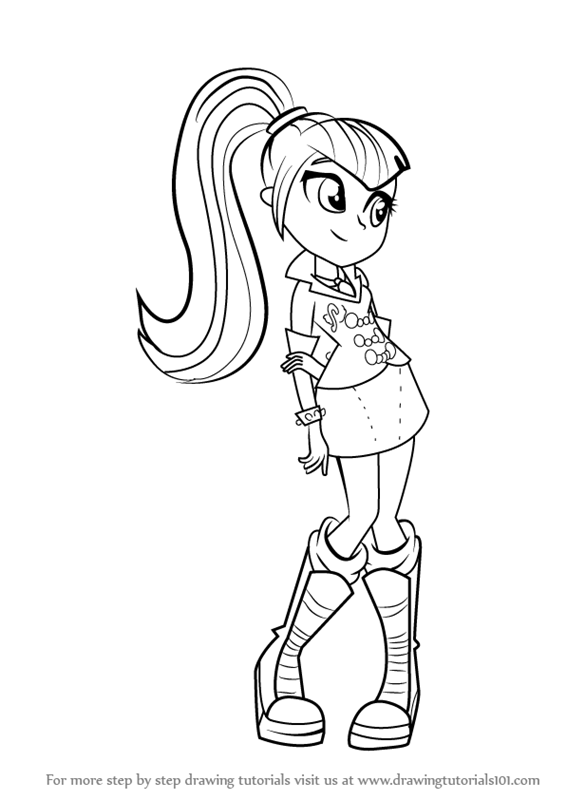 25 My Little Pony Cartoon Coloring Pages