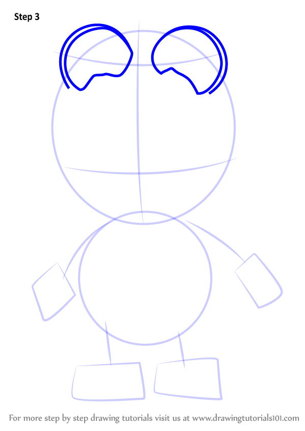 Learn How To Draw Crong From Pororo The Little Penguin