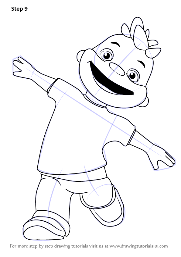 Learn How To Draw May From Sid The Science Kid Sid The