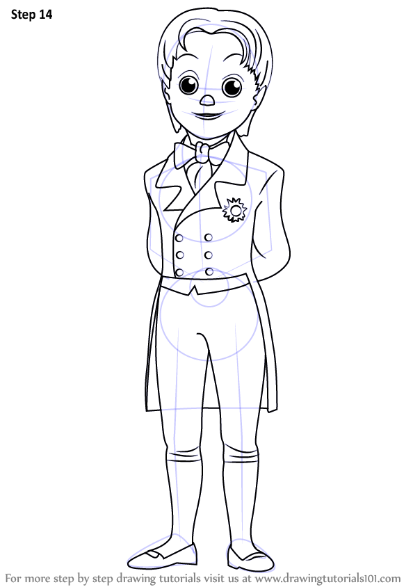 Learn How to Draw Prince James from Sofia the First (Sofia
