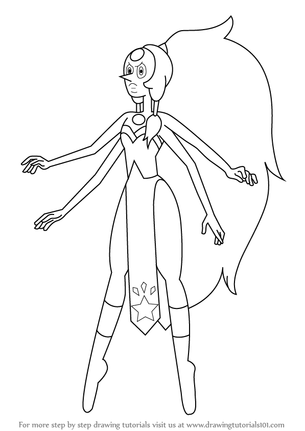 Learn How to Draw Opal from Steven Universe (Steven