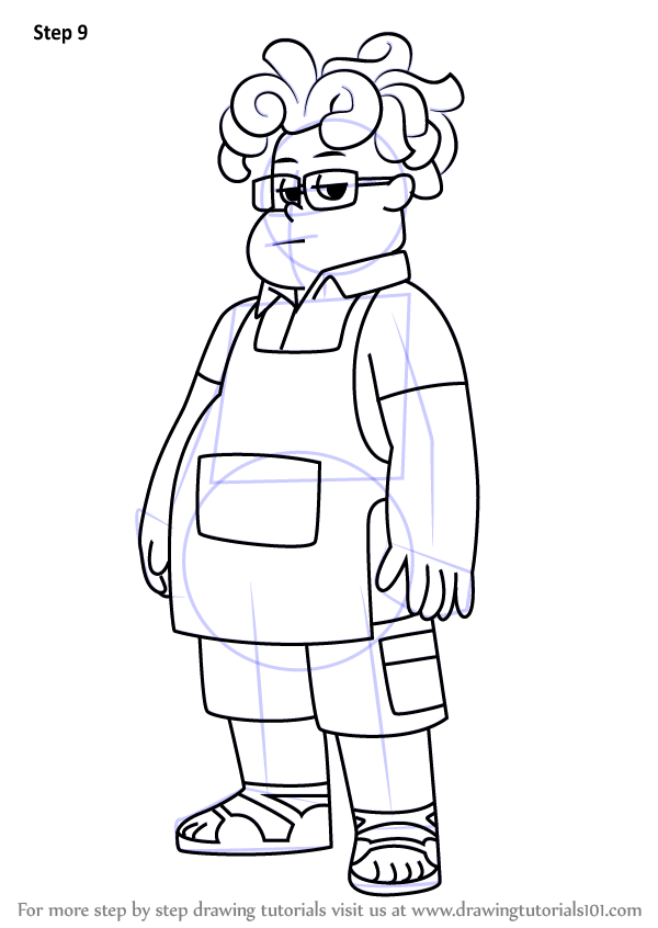 learn how to draw ronaldo fryman from steven universe