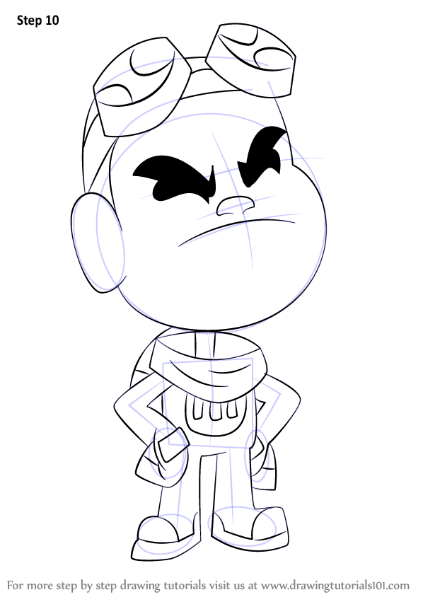Learn How to Draw Gizmo from Teen Titans Go (Teen Titans