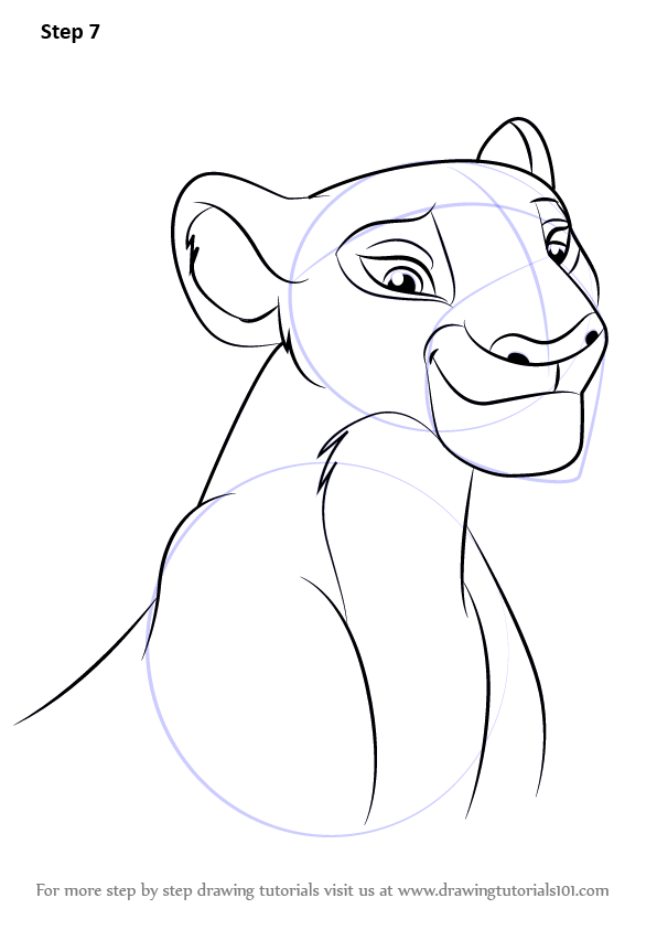 Learn How To Draw Nala From The Lion Guard The Lion Guard