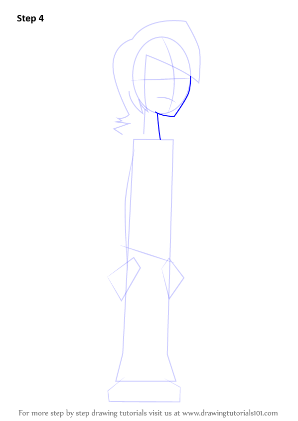 Learn How to Draw Lance from Total Drama Island Total
