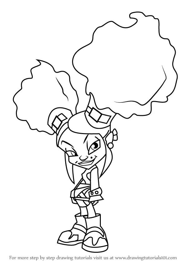 Learn How to Draw Onyx Von Trollenberg from Trollz (Trollz