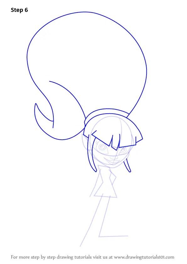 Learn How To Draw Sapphire Trollzawa From Trollz Trollz