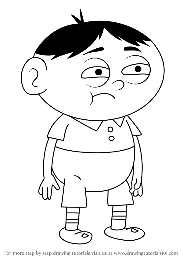 Learn How to Draw Akira from Uncle Grandpa (Uncle Grandpa