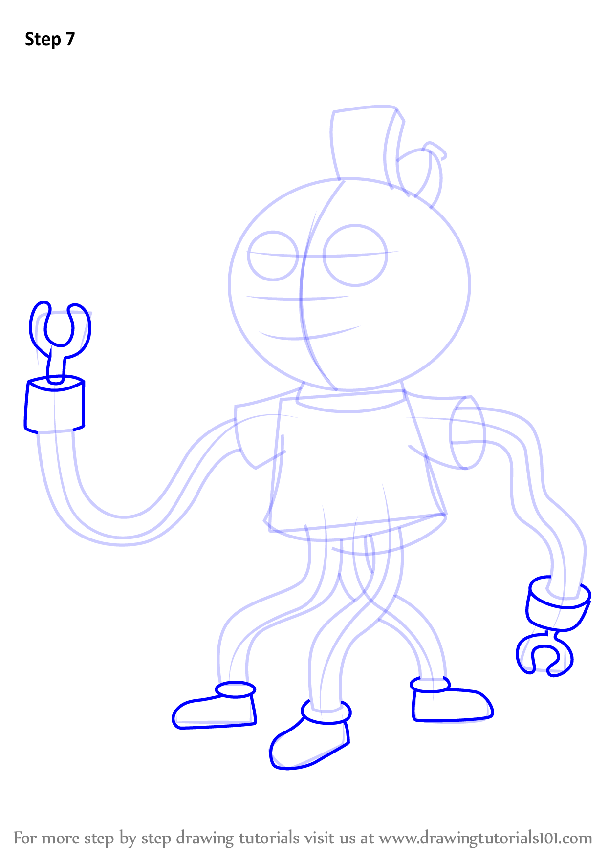 Learn How to Draw Tiny Miracle from Uncle Grandpa Uncle Grandpa Step by Step  Drawing Tutorials